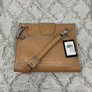 NEW DKNY Elissa Small Leather Flap Crossbody Purse